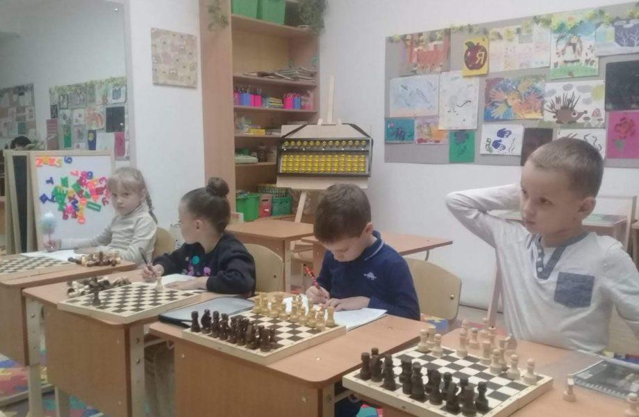 Кружок шахмат в Новороссийске в Южном